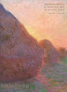 Sotheby-039-s-New-York-Catalogue-Impressionist-amp-Modern-Art-Evening-Sale-2019-HB