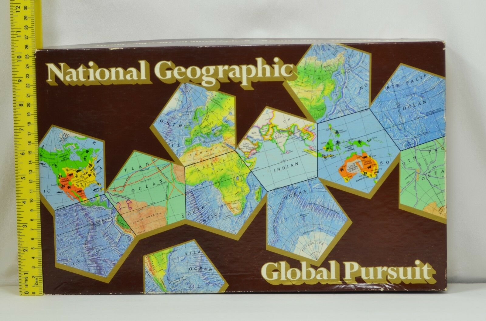 National Geographic Global Pursuit Family Game by National Geographic