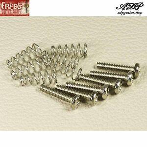 Kit-Micro-Strat-6-Viti-1-85x18mm-Niickel-6-Molle-Stratocaster-Pickup-Screws