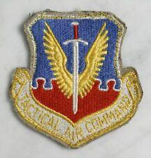 Vintage TACTICAL AIR COMMAND Patch. Vietnam Era USAF Pilot Sword Wings Velcro