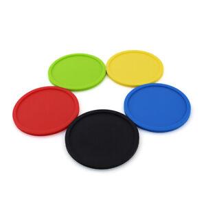 Round-Silicone-Drink-Coaster-Replacemat-Reusable-Coffee-Tea-Mug-Holder-Pad-Mat