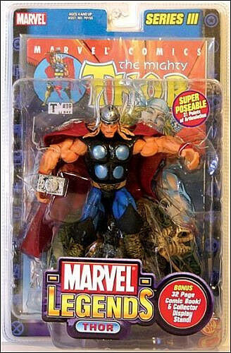 Marvel Legends Collection__THOR action figure_Series _TOYBIZ_New and Unopened