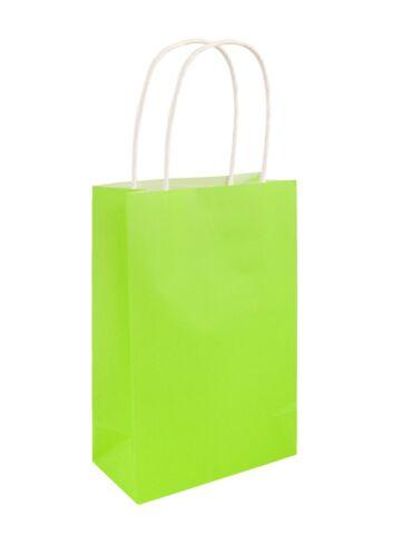 Vert fluo Party Bags KIDS HALLOWEEN faveurs Garçons Filles Hen Night goodies Cadeau UK