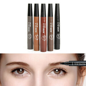 Microblading-Effect-4Tip-Liquid-Eyebrow-Tint-Precise-Brow-Pen-Lasting-Waterproof