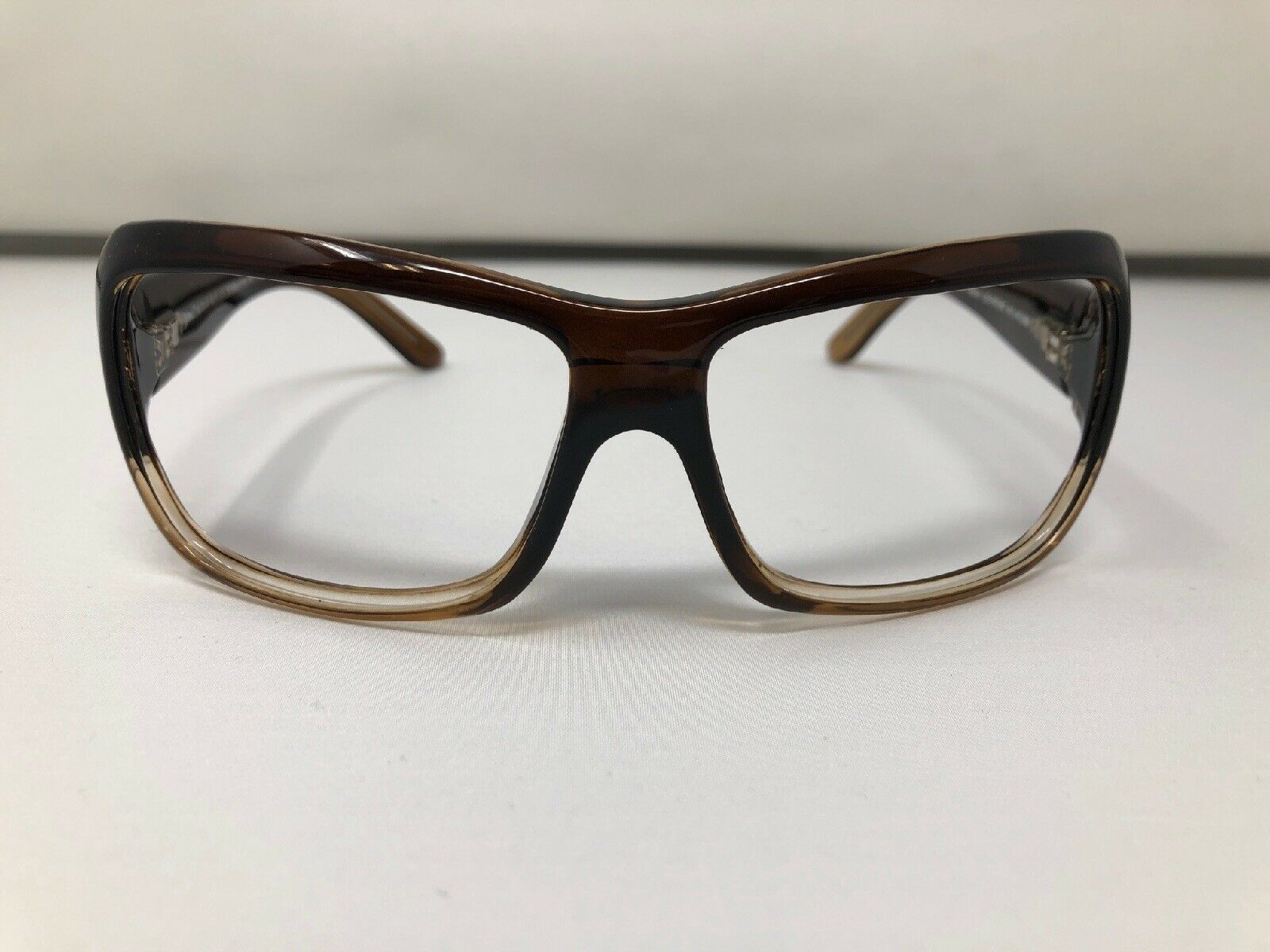 Maui Jim Sunglasses Frames PALMS 63-15-115 Brown MJ111-01 Italy KE93