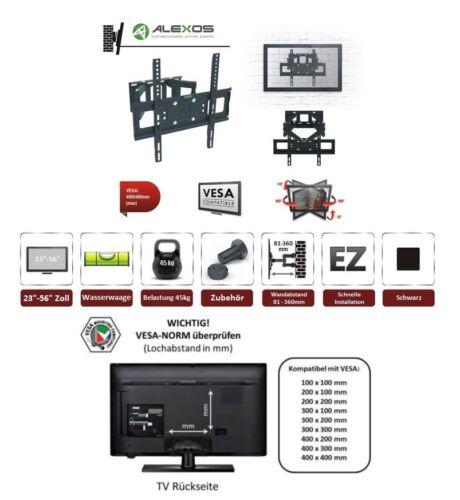 TV Fernseher Wandhalterung A66 Halter für SAMSUNG 55 Zoll GQ55Q9 und GQ55Q9FN