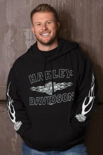 Harley-Davidson Men/'s Ghost Flame Hoodie 40290145