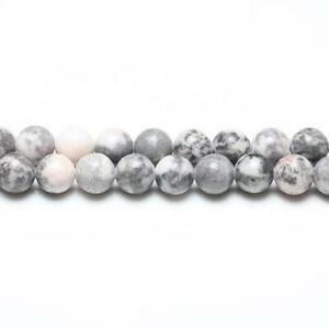 Packet-8-x-Brown-Pink-Zebra-Jasper-8mm-Plain-Round-Beads-VP2565