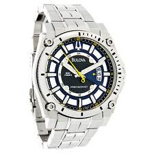 Bulova Mens Champlain Precisionist Stainless Steel Watch 96B131