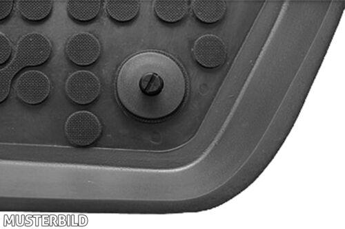 Gummi-Fußmatten PEUGEOT 206//206 SW PEUGEOT 206 4tlg 1998-2012 Gummimatten