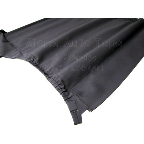 BMW 3 Series Headliner 1994-97 in Twill Charcoal for Convertibles w//Manual Lock