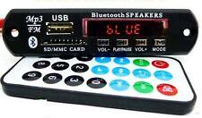 Stereo Music Audio Kit FM, USB,AUX,Card, MP3 Decoder Module, Panel & Remote