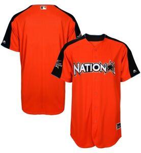 ced21a34b Majestic All-Star Jersey National League Home Run Derby Orange Men s ...