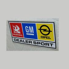 Ascona Manta Sticker Decal 150mm W Dealer Sport GM Vauxhall Opel Chevette HSR