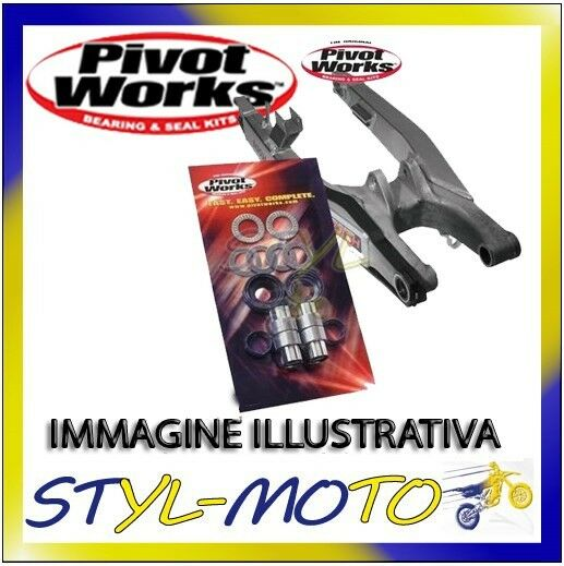 PIVOT WORKS KIT REVISIONE CUSCINETTI FORCELLONE YAMAHA WARRIOR 350 1987-2004