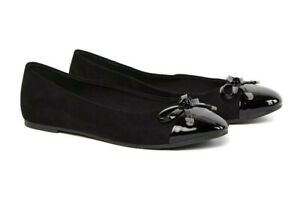 Flat Ballerina Shoes Evans Extra Wide