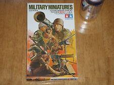 WW#2, U.S. GUN & MORTAR TEAM SET, TAMIYA Military Miniatures Kit, Scale 1/35