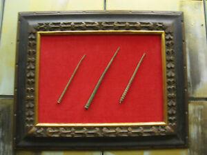 3-Framed-Ancient-Bronze-Pins