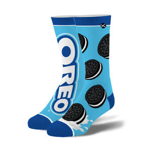 Odd Sox, Unisex, Food, Oreo Cookies Logo, Crew Socks, Funny Novelty Silly Cool