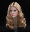 """1//6 female head Avril B blonde curly hair for Phicen hot toys 12/"""" figure ❶USA❶"""