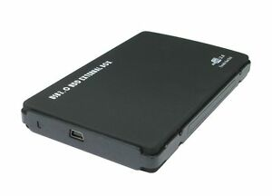 USB-2-0-to-SATA-hard-drive-enclosure-for-use-with-2-5-034-hard-drives