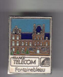 RARE-PINS-PIN-039-S-PTT-LA-POSTE-FRANCE-TELECOM-CHATEAU-ART-FONTAINEBLEAU-77-C2