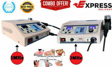 New Combo Unit 1 Mhz Ultrasound And 3 Mhz Ultrasound Therapy Physical Therapy
