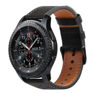 For-Samsung-Galaxy-Watch-46mm-Gear-S3-Frontier-Classic-Genuine-Leather-Band