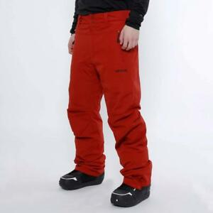 Rip-Curl-BASE-SNOW-PANT-Mens-Snowboard-Ski-Waterproof-Mountain-Pant-Red-Dahlia