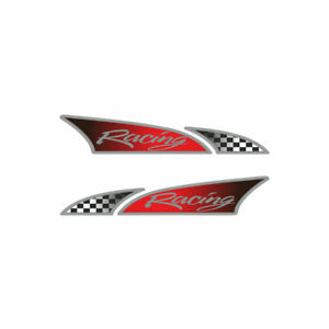 Adesivo Logosport per Auto Racing Dx + Sx