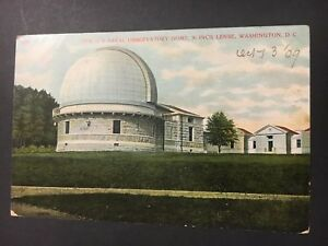 Details about Postcard New US Naval Observatory Dome Washington DC  1909   Pg23