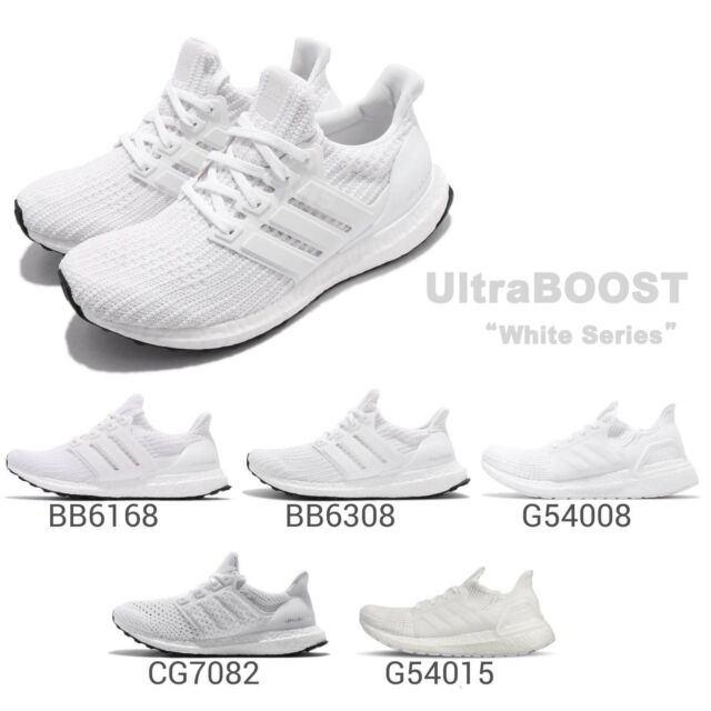 adidas UltraBOOST 4.0 19 Clima White Series Mens Womens Running Shoes Pick 1