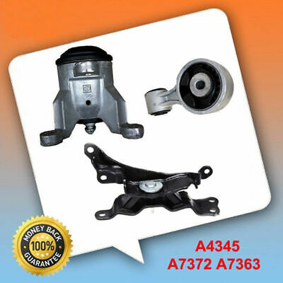 For 09-2014 Nissan Murano 3.5L Engine Trans Motor Mount Set 4354 7363 7372 M938