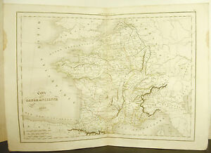 La-Gaule-Antique-Ancient-France-Card-Antique-1838-Ancient-Map-17-11-16in-15in