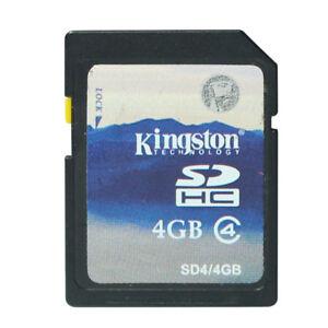 10PCS-LOT-Kingston-4GB-SD-SDHC-Card-4G-Secure-Digital-Flash-Memory-Card-C4