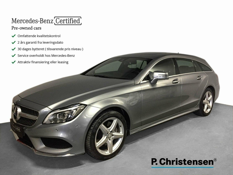 Mercedes CLS350 3,0 BlueTEC SB aut 4-M 5d - 7.585 kr.