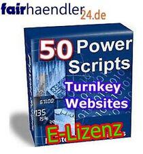 ★50 PHP POWER SCRIPTE★ FÜR WEBSITES WEBSEITEN - ALTE SCRIPTS TOP PREIS E-LIZENZ