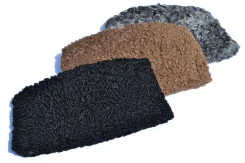 Brand New KARAKUL JINNAH PERSIAN LAMB broadtail KUFI FUR SHEEP HAT RUSSIAN CAP