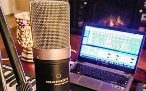 Marantz Professional MPM-1000 Large Studio Diaphragm Condenser Microphone Podcast Youtube or twitch Canada Preview