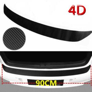 1Pcs-4D-Carbon-Fiber-Car-Rear-Guard-Bumper-Sticker-Panel-Protector-Accessories