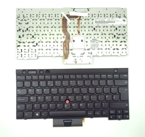 Brand New UK keyboard for Lenovo ThinkPad L530 T530 T530i W530 04X1230