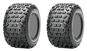 Pair 2 Maxxis Razr MX 397 18x10-8 ATV Tire Set 18x10x8 Soft 4PR 18-10-8