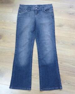 TOPSHOP-MOTO-blue-jeans-petite-denim-trousers-W26-L29