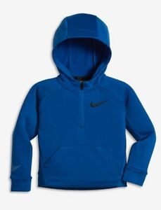 d2c6c2202444 Nike Therma DRI-FIT 1 2 Zip Pullover Hoodie Toddler Blue Jay Sz 4T ...