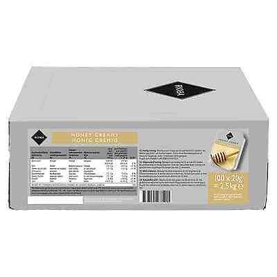 (1000g=8,50€) Rioba Honig Cremig - Portionspackungen - 100 Stück je 20 Gramm