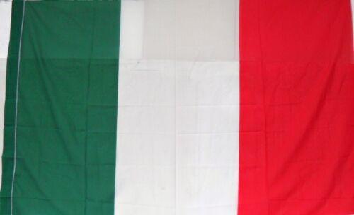 85//90 x 135//140 circa peso gr 135 1 BANDIERA d/'ITALIA TRICOLORE in TESSUTO cm