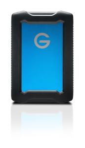 G-Technology ArmorATD 5 TB externe Rugged Festplatte USB-C 3.1 Gen1 2,5zoll blau