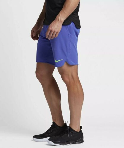 tennis Ace Nikecourt 9 Men's Pantaloncini Nike tessuto in da 9 Flex da OnqwBz5