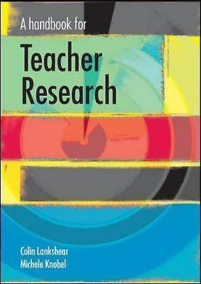 1 of 1 - A handbook for teacher research: From Design to Implementation, Lankshear;, Knob