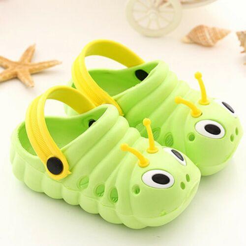 Kids Baby Boy Girl Summer Sandals Slippers Beach Clogs Pumps Caterpillar Shoes A